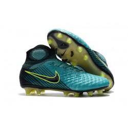 Nike Magista Obra 2 FG Nuove Scarpa da Calcio Blu Nero