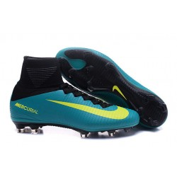 Scarpe Nike Mercurial Superfly V FG Dynamic Fit - Blu Giallo