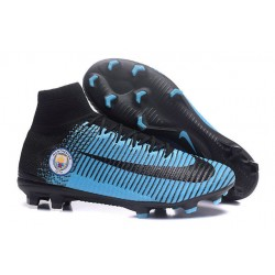 Nike Mercurial Superfly 5 DF FG ACC Manchester City FC Blu