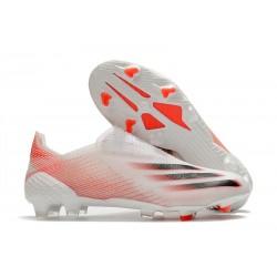 adidas Scarpe Calcio X Ghosted + FG Binaco Rosso Nero