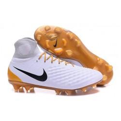 Nike Magista Obra 2 FG Scarpe da Calcio Uomo - Bianco Oro