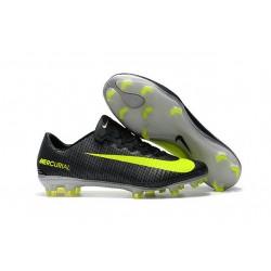 Nike Mercurial Vapor XI CR7 FG - scarpa da calcio terreni compatti - Nero Giallo