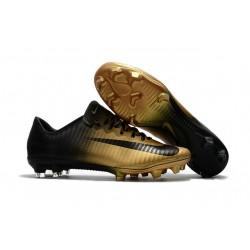 Nike Mercurial Vapor XI FG - scarpa da calcio terreni compatti - Oro Nero
