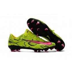 Scarpe da Calcio Nuovo Nike Mercurial Vapor 11 FG ACC - Giallo Rosa