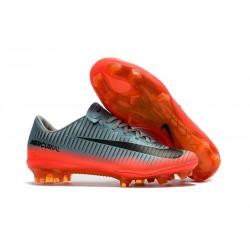 Scarpe da Calcio Nuovo Nike Mercurial Vapor 11 FG ACC - Gris Arancio