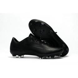 Scarpe da Calcio Nuovo Nike Mercurial Vapor 11 FG ACC - Tutto Nero
