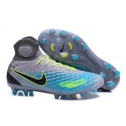 Nike Scarpe da Calcio Nuovo Magista Obra II FG - Grigio Blu