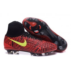 Nike Scarpe da Calcio Nuovo Magista Obra II FG - Rosso Nero Giallo