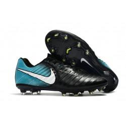 Nike Scarpa da Calcetto Tiempo Legend 7 FG Uomo - Blu Nero