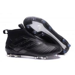 Scarpe da Calcio Adidas ACE 17+ Pure Control FG Uomo - Tutto Nero