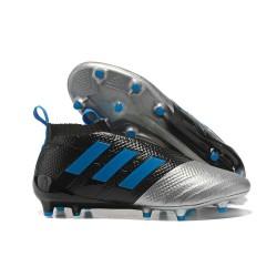 Adidas Nuovo Scarpa da Calcio ACE 17+ Pure Control FG - Nero Metallico Blu