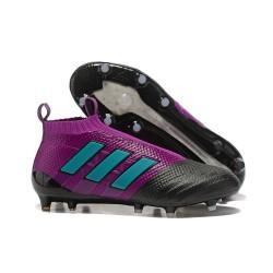 Adidas Nuovo Scarpa da Calcio ACE 17+ Pure Control FG - Viola Blu Nero