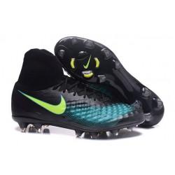 Nuove Scarpe da Calcio Nike Magista Obra II FG ACC - Nero Blu