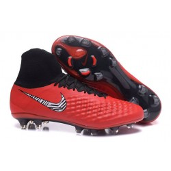 Nuove Scarpe da Calcio Nike Magista Obra II FG ACC - Rosso