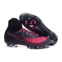 Nuove Scarpe da Calcio Nike Magista Obra II FG ACC - Nero Rosa