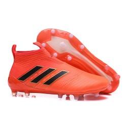 Adidas ACE 17+ PureControl FG Scarpe da Calcio - Arancio Nero