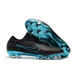 Nike Mercurial Vapor Flyknit Ultra FG Scarpe Uomo - Nero Blu