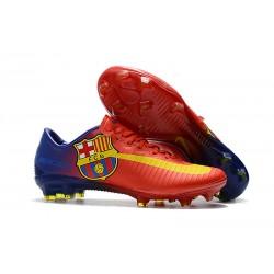Nike Mercurial Vapor 11 FG Scarpa da Calcetto Barcelona - Rosso
