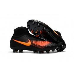 Nuove Scarpe da Calcio Nike Magista Obra II FG ACC - Nero Arancio