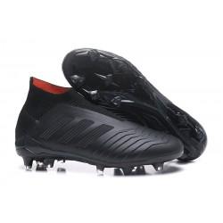 adidas Scarpe da Calcio Predator 18+ FG - Tutto Nero