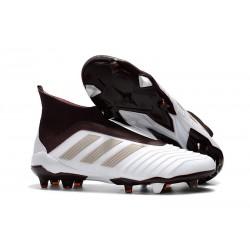 adidas Scarpe da Calcio Predator 18+ FG - Bianco Marrone