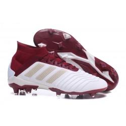 Scarpe da Calcio adidas Predator 18.1 FG Bianco Rosso