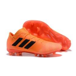 adidas Nemeziz 18.1 FG Coppa del Mondo Scarpe - Arancio Nero