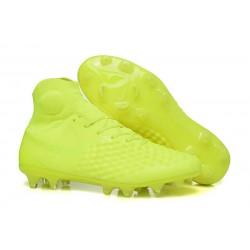 Nike Magista Obra II FG Scarpe da Calcio Uomo - Tutto Giallo