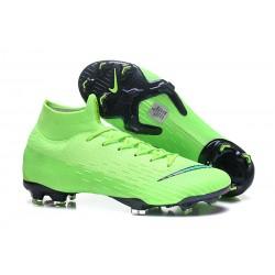 Nike Mercurial Superfly VI Elite DF FG - Scarpe da Calcetto con Tacchetti Verde