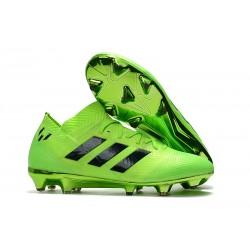 adidas Nemeziz 18.1 FG Coppa del Mondo Scarpe - Verde Nero