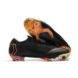 Nike Scarpa Coppa del Mondo 2018 Mercurial Vapor XII FG Nero Arancio