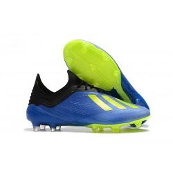 adidas Scarpe da Calcio X 18.1 FG - Blu Verde