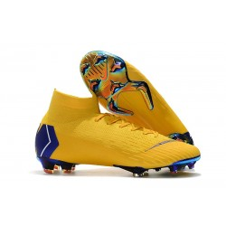 Nike Scarpa da Calcio Mercurial Superfly VI 360 Elite FG - Giallo Blu