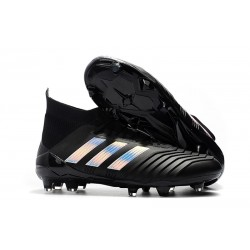 Scarpe da Calcio adidas Predator 18.1 FG - Nero Argento