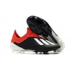 adidas Scarpe da Calcio X 18.1 FG - Nero Rosso Bianca