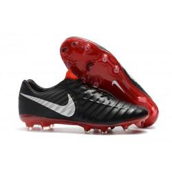 Nike Tiempo Legend 7 FG Scarpa Uomo - Nero Rosso