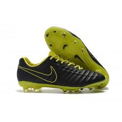 Nike Scarpe da Calcio Tiempo Legend VII Elite FG - Nero Giallo