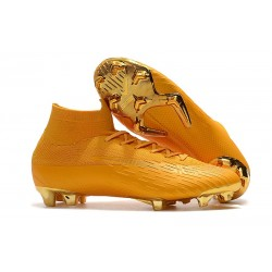 Nike Mercurial Superfly VI Elite FG Scarpa da Calcio - Oro