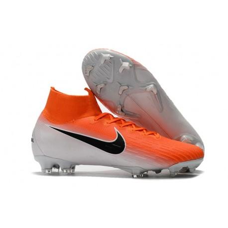 scarpe da calcio 6 tacchetti arancio