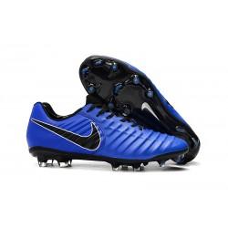 Nike Scarpe da Calcio Tiempo Legend VII Elite FG - Blu Nero