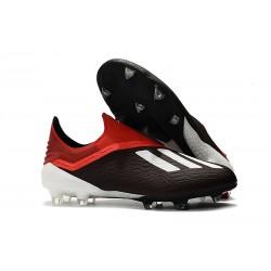 Scarpe Calcio Adidas X 18+ FG - Nero Rosso Bianco