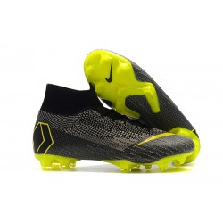 Nike Mercurial Superfly VI Elite FG Scarpa da Calcio - Nero Giallo