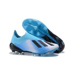 Adidas X 18+ FG Nuovo Scarpa Calcio - Blu Nero