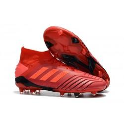 Scarpe da Calcio adidas Predator 19.1 FG - Rosso