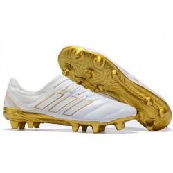 Scarpa Nuovo adidas Copa 19.1 FG - Bianco Oro