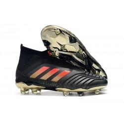 Scarpe da Calcio adidas Predator 18.1 FG - Nero Rosso