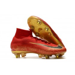 Nike Mercurial Superfly VI Elite CR7 SG-Pro AC Rosso Oro