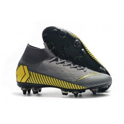 Nike Mercurial Superfly 360 Elite SG Pro Anti-Clog - Grigio Giallo
