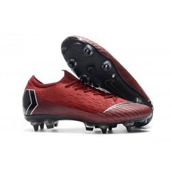 Scarpa Nike Mercurial Vapor XII 360 SG-Pro AC Rosso Nero