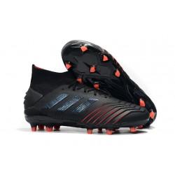 Scarpe da Calcio adidas Archetic Predator 19.1 FG - Nero Rosso